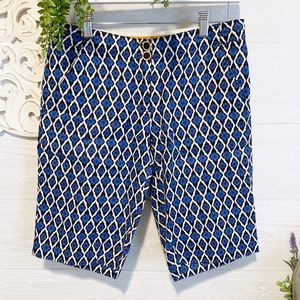 Tory Burch  |  Printed Bermuda Short, Sz 2